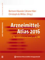 Cover Arzneimittel-Atlas 2016